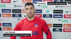 """Luis Suárez: """"Todo el mundo te dice que el lema del Atlético es sufrir, no pensaba que tanto"""""""