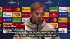Las quejas de Klopp sobre la grave lesión de Van Dijk