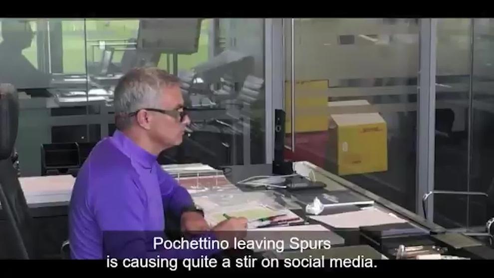 La impagable reacción de Mourinho cuando el comentarista le critica en la televisión