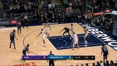 Lo mejor de la jornada exprés de la NBA