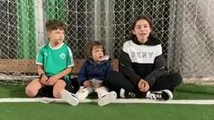 """El tierno y emotivo mensaje que le mandaron a Luis Suárez sus hijos: """"Traé la Copa, papá"""""""