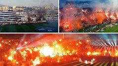 El PAOK gana la liga griega 34 años después: ¿cuántos miles de bengalas había en el estadio?