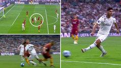 Asensio puso en pie al Bernabéu: cola de vaca inversa y remate... ¡sin mirar a puerta!