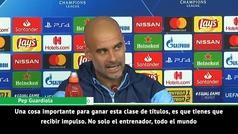 """Guardiola: """"Para ganar la Champions tienes que sentirlo"""""""