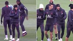 El entrenamiento de Neymar con plumas que todo el mundo critica