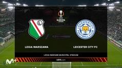 Europa League (J2): resumen y gol del Legia Varsovia 1-0 Leicester City