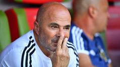 Jorge Sampaoli deja de ser el entrenador de la selección de Argentina