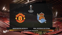 Europa League (1/16 de final): Resumen y jugadas destacadas del United 0-0 Real Sociedad