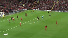 Gol de Wijnaldum (1-0) en el Liverpool 2-3 Atlético