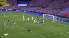 Gol de Lenglet (1-0) en el Barcelona 3-1 Nápoles