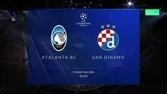 Champions League (Grupo C): Resumen y goles del Atalanta 2-0 Dinamo Zagreb