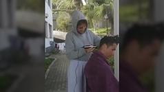 Cristiano se pone en manos de Georgina para raparse el pelo