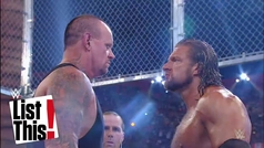 Los cinco combates más raros de Undertaker en WWE