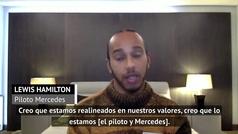 """Hamilton, sobre su futuro en Mercedes: """"Ya habrá tiempo de sentarnos y planificar"""""""