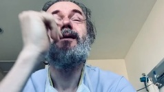 El vídeo de Tristán Ulloa, entre lágrimas, al saber que deja el hospital