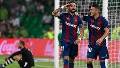 LaLiga (J1): Resumen y goles del Betis 0-3 Levante