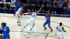 ¡Todavía lo está buscando! Brutal rotura de Chris Paul al mejor defensor de la NBA