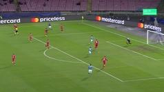 Gol de Mertens (2-0) en el Nápoles 3-1 Estrella Roja