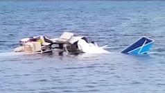 Cinco turistas muertos tras estrellarse su avioneta privada en el mar en Honduras