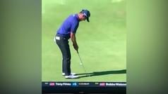 ¡¡Seis golpes para embocar un putt de un metro en el US Open!!