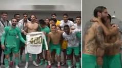 """Ramos celebra sus 400 victorias con el Real Madrid y lanza un reto: """"A ver si me pasas"""""""