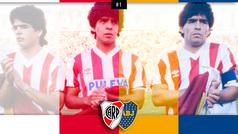 La vez que un Maradona quiso eliminar a River de la Copa Libertadores