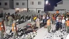 Mueren al menos 7 personas tras derrumbarse un edificio en construcción en Monterrey