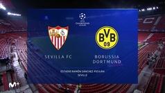 Champions League (Octavos ida): Resumen y goles del Sevilla 2-3 Dortmund