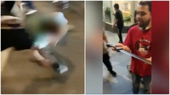 Un hombre intenta atentar con un machete en una protesta por George Floyd y acaba linchado