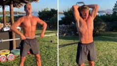 Marcos Llorente luce músculos en vacaciones: ¡tremendo workout de crossfit al atardecer!