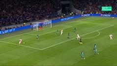 Gol de Ziyech (2-0) en el Ajax 2-3 Tottenham