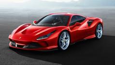 El Ferrari F8 Tributo, en acción