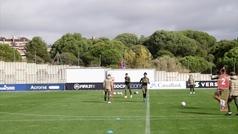 El Atlético ya piensa en el Salzburgo