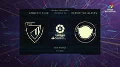 LaLiga Santander (J30): Resumen del Athletic 0-0 Alavés