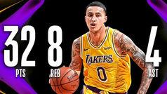 Kyle Kuzma se destapa como la estrella de los Lakers sin LeBron