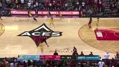 La canasta más milagrosa de la NBA femenina: Dearica Marie Hamby la lía para eliminar a Ndour