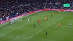 Gol de Piqué (4-1) en el Barcelona 5-1 Lyon