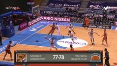 Liga ACB: Resumen Obradoiro 77-78 Valencia