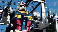 Gundam, el robot gigante de 18 metros y 24 toneladas,  al fin cobra vida