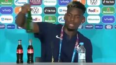 Pogba se marca un 'Cristiano' con la botella de Heineken