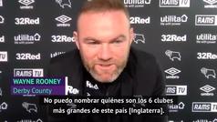 """Rooney y sus dudas sobre los 6 grandes de la Premier: """"Hay muchos equipos luchando..."""""""