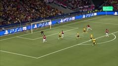 Gol de Martial (0-3) en el Young Boys 0-3 Manchester United