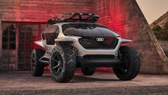 Audi AI:Trail: los drones le señalan el camino
