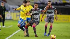 LaLiga 123 (J14): Resumen y goles de Las Palmas 2- 2 Granada