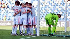 Europeo Sub-21 (Fase de grupos): Resumen y goles del España 2-1 Bélgica