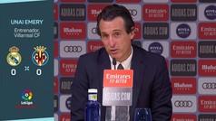 """Emery: """"Somos capaces de mirar a los ojos a equipos como el Madrid"""""""