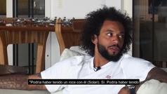 """Marcelo: """"Podría haber tenido un roce con Solari, pero..."""""""