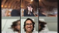 El directo de Instagram de Feliciano López y Yolanda García Valduero