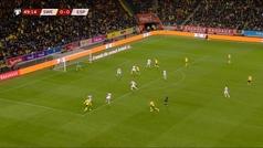 La doble parada de De Gea que no evitó el gol de Berg... y le obligó a pedir el cambio