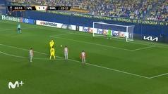 Gol de Gerard Moreno (p.) (2-1) en el Villarreal 2-1 Salzburgo